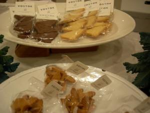 クッキーも鳥型、素材も道産素材にこだわり