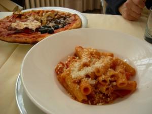初日のランチは定番のイタリアンでした
