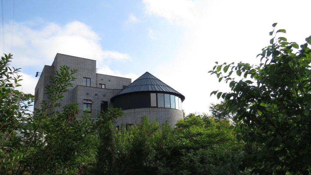建物と庭園は釧路市の都市景観賞を受賞した