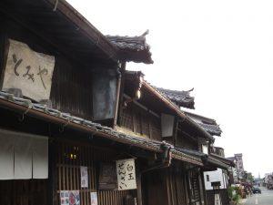 うだつの追っかけで、函館、川越、そして岐阜県美濃市に。